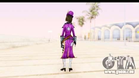 Borderland - Moxi Purple pour GTA San Andreas troisième écran