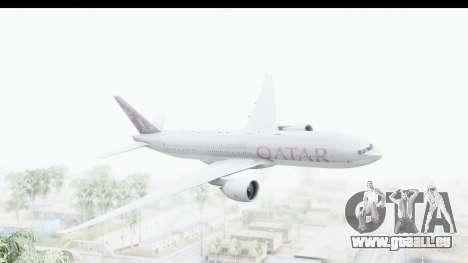 Boeing 777-200LR Qatar Airways pour GTA San Andreas