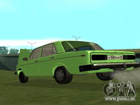 VAZ 2106 pour GVR pour GTA San Andreas vue de droite