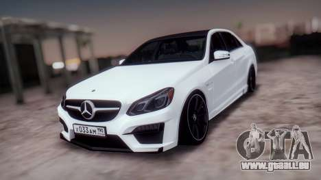 Mercedes-Benz E63 GSC pour GTA San Andreas