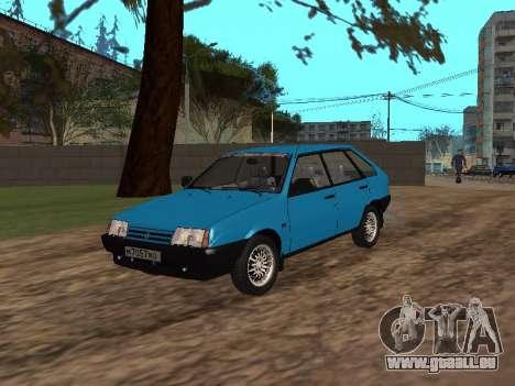 VAZ 2109 avec des roues en alliage pour GTA San Andreas