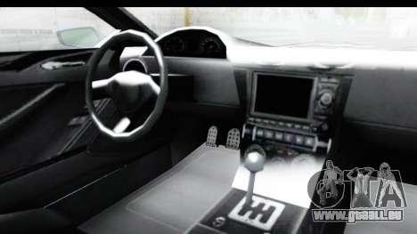GTA 5 Dewbauchee Seven 70 with Mip Map für GTA San Andreas Innenansicht