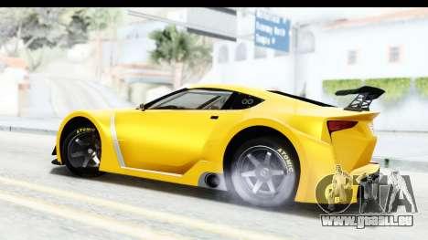 GTA 5 Emperor ETR1 v2 SA Lights für GTA San Andreas linke Ansicht