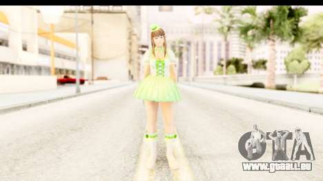 Dead Or Alive 5 - Hitomi Pop Idol für GTA San Andreas zweiten Screenshot