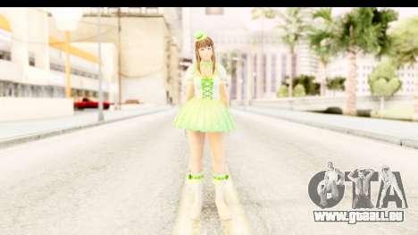 Dead Or Alive 5 - Hitomi Pop Idol pour GTA San Andreas deuxième écran
