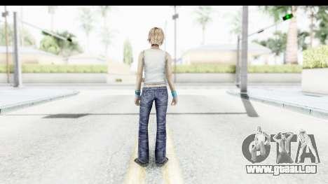 Silent Hill 3 - Heather Sporty White Delicious pour GTA San Andreas troisième écran
