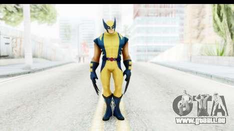 Marvel Heroes - Wolverine Modern pour GTA San Andreas deuxième écran