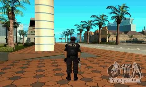 NextGen verändert die ursprüngliche Haut SWAT für GTA San Andreas dritten Screenshot