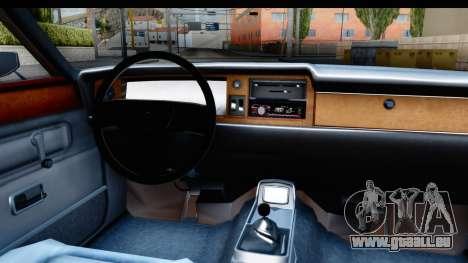 Ford Taunus Coupe für GTA San Andreas Innenansicht