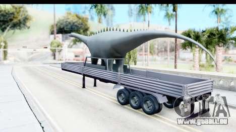 Trailer Brasil v7 für GTA San Andreas zurück linke Ansicht