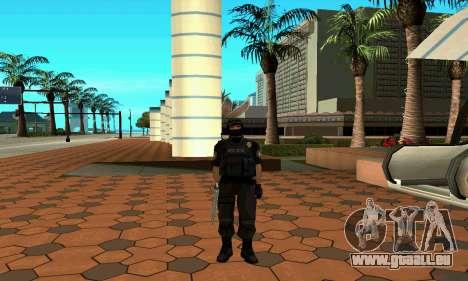 NextGen verändert die ursprüngliche Haut SWAT für GTA San Andreas fünften Screenshot