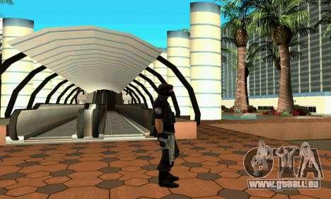 NextGen verändert die ursprüngliche Haut SWAT für GTA San Andreas her Screenshot