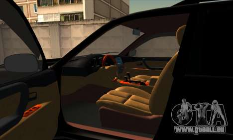 Toyota Land Cruiser 100 für GTA San Andreas Rückansicht