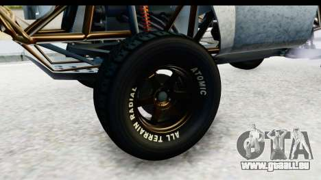 GTA 5 Trophy Truck SA Lights PJ für GTA San Andreas Rückansicht