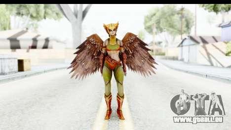 Injustice God Among Us - Hawk Girl pour GTA San Andreas deuxième écran