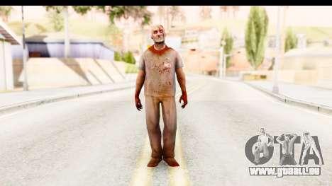 Left 4 Dead 2 - Zombie Surgeon pour GTA San Andreas deuxième écran