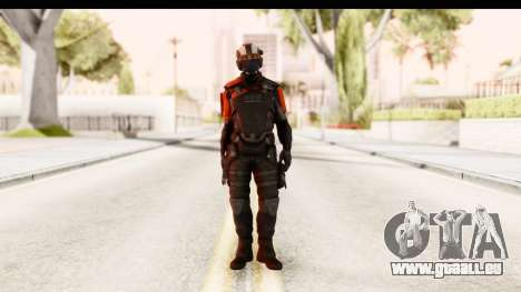 Homefront The Revolution - KPA v3 Black für GTA San Andreas zweiten Screenshot