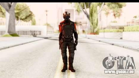 Homefront The Revolution - KPA v3 Black pour GTA San Andreas deuxième écran