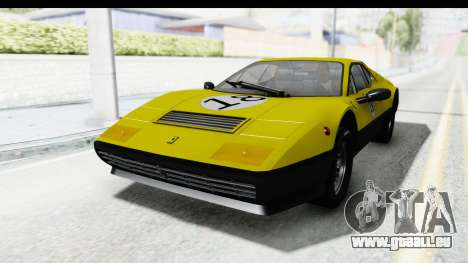 Ferrari 512 GT4 BB 1976 pour GTA San Andreas roue
