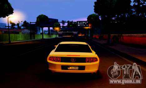 Ford Mustang für GTA San Andreas rechten Ansicht