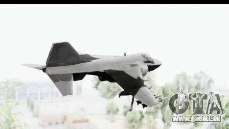 MGSV Phantom Pain Hydra v2 pour GTA San Andreas vue de droite
