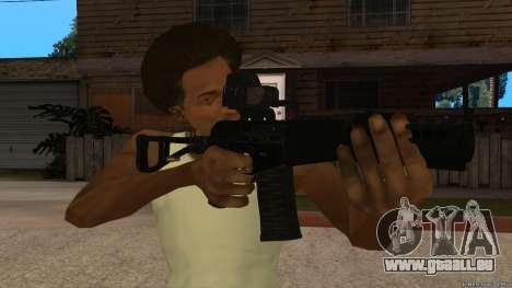 As-VAL Payday 2 pour GTA San Andreas deuxième écran
