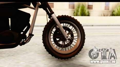 GTA 5 Western Cliffhanger Stock IVF pour GTA San Andreas vue arrière