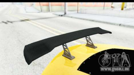 GTA 5 Emperor ETR1 v2 SA Lights für GTA San Andreas Seitenansicht