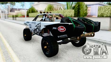 GTA 5 Trophy Truck SA Lights PJ pour GTA San Andreas salon