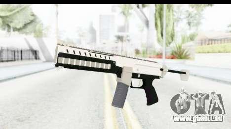 GTA 5 Coil Combat PDW pour GTA San Andreas