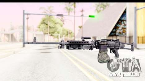 M240 FSK No Attachments pour GTA San Andreas