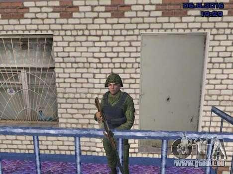 Le conducteur de la MIA pour GTA San Andreas deuxième écran