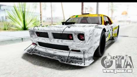GTA 5 Declasse Drift Tampa pour GTA San Andreas vue intérieure