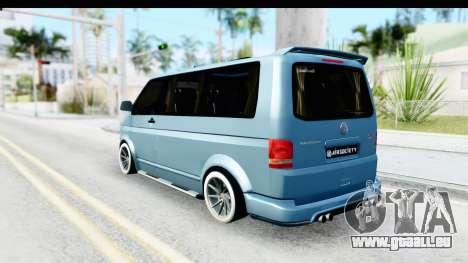 Volkswagen Caravelle für GTA San Andreas linke Ansicht