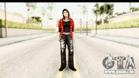 Twilight - Bella pour GTA San Andreas deuxième écran