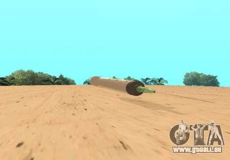 Spritze für GTA San Andreas linke Ansicht
