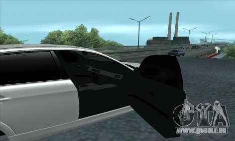 BMW 325i E90 pour GTA San Andreas vue de droite