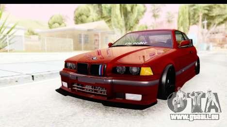 BMW M3 E36 Spermatozoid Edition pour GTA San Andreas