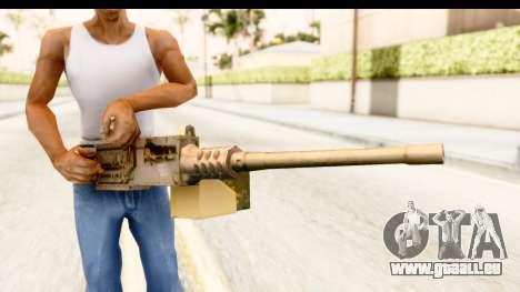 M2 Browning für GTA San Andreas dritten Screenshot