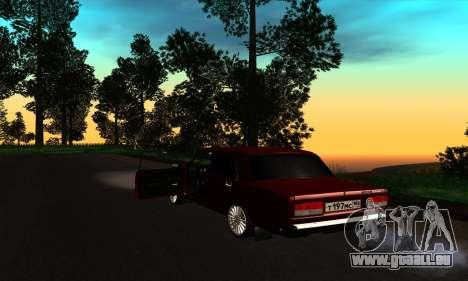 2107 für GTA San Andreas rechten Ansicht