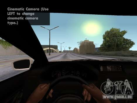 GTA 5 Ubermacht Oracle II pour GTA San Andreas sur la vue arrière gauche