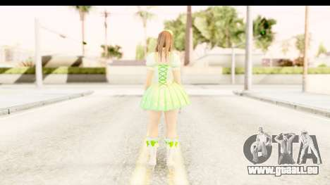 Dead Or Alive 5 - Hitomi Pop Idol für GTA San Andreas dritten Screenshot
