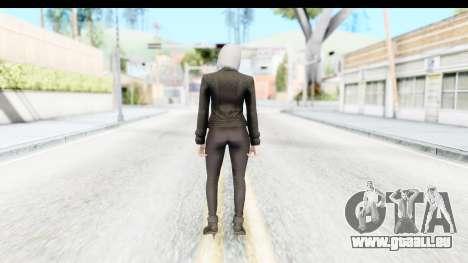 GTA 5 Ill Gotten-Gains DLC Female Skin pour GTA San Andreas troisième écran