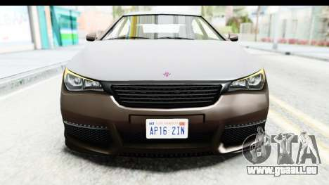 GTA 5 Ubermacht Oracle II SA Style für GTA San Andreas Seitenansicht