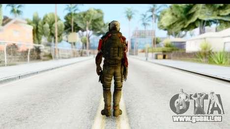 Homefront The Revolution - KPA v1 Dead pour GTA San Andreas troisième écran
