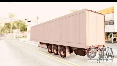 Trailer ETS2 v2 Nr. 2 pour GTA San Andreas laissé vue