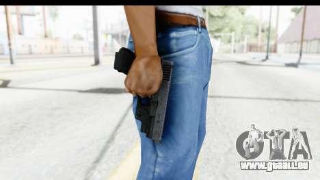 Glock P80 pour GTA San Andreas troisième écran