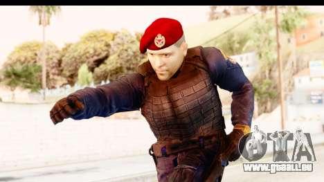 Bahrain Officer v2 für GTA San Andreas