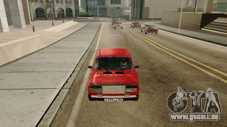 rus_racer ENB v1.0 für GTA San Andreas siebten Screenshot