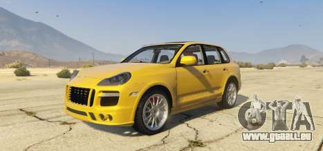 Porsche Cayenne Turbo 2010 pour GTA 5